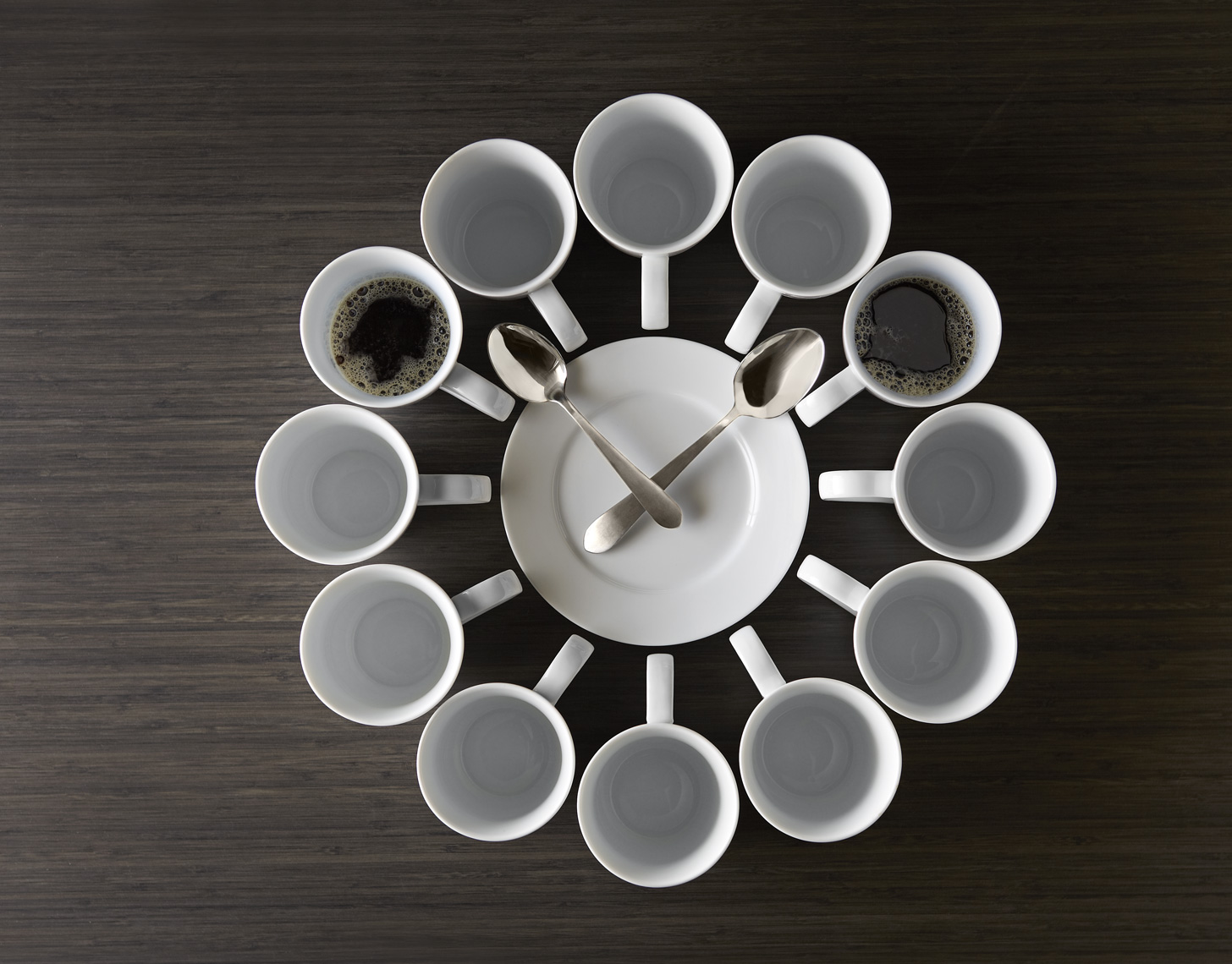 Coffee Cup Clock Photo Christopher Nastri