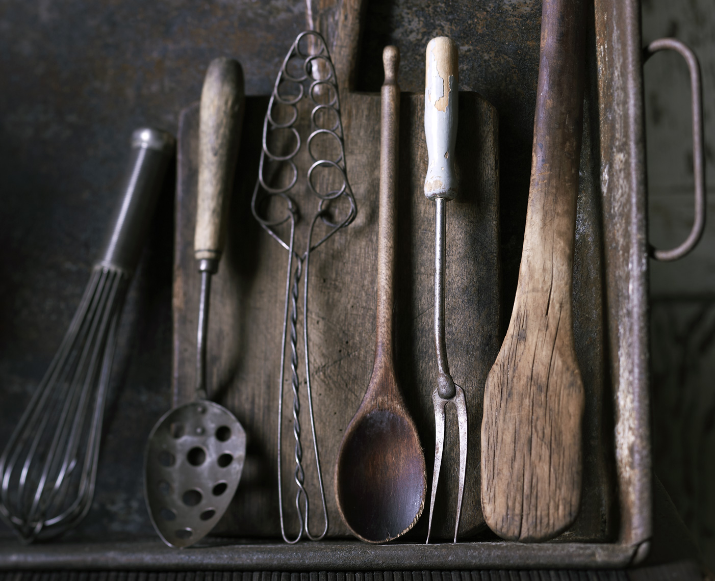Antique Cooking Utensils Christopher Nastri
